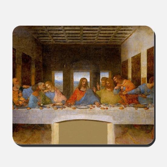 The Last Supper Leonardo Da Vinci Mousepad