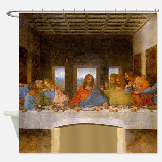 The Last Supper Leonardo Da Vinci Shower Curtain