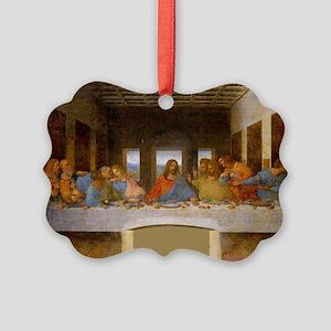 The Last Supper Leonardo Da Vinci Picture Ornament