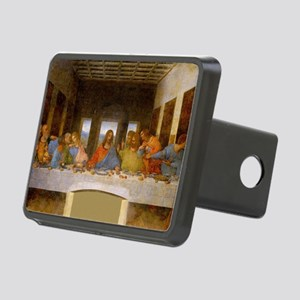 The Last Supper Leonardo D Rectangular Hitch Cover