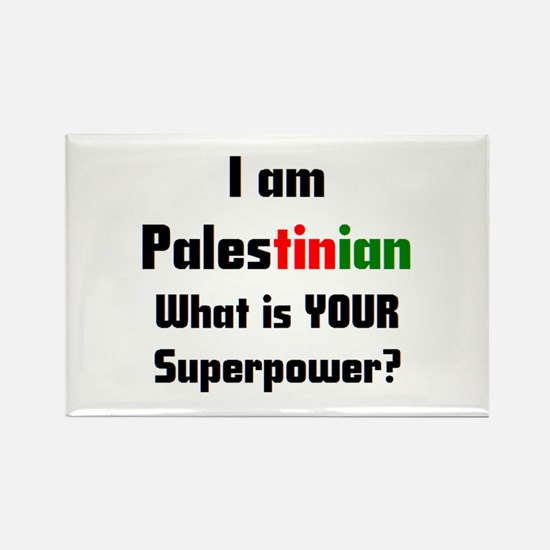 i am palestinian Rectangle Magnet