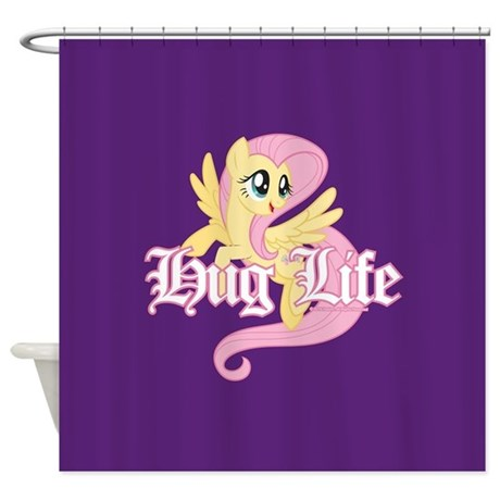 My Little Pony Hug Life Shower Curtain By Mylittlepony