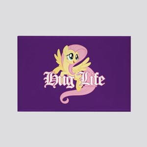 My Little Pony Hug Life Rectangle Magnet