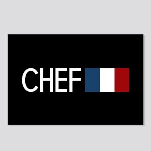 Culinary: Chef (French Fl Postcards (Package of 8)