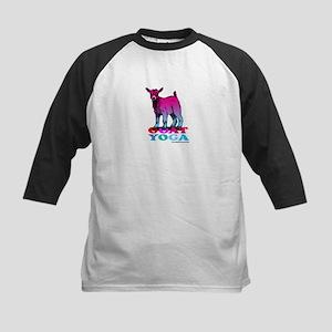 Goat Yoga 2 Kids Baseball Tee