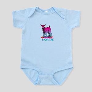 Goat Yoga 2 Baby Light Bodysuit