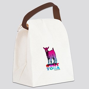 Goat Yoga 2 Canvas Lunch Bag