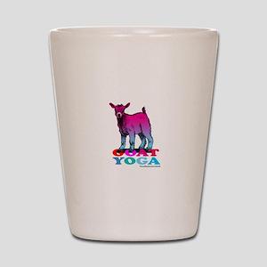 Goat Yoga 2 Shot Glass