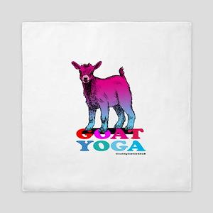 Goat Yoga 2 Queen Duvet
