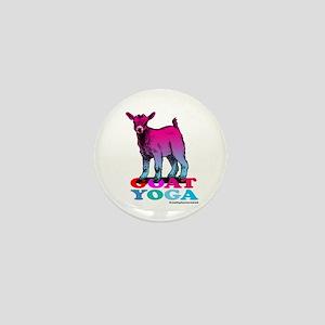 Goat Yoga 2 Mini Button
