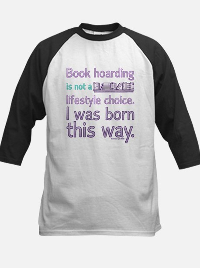 Funny Book Hoarding Lifestyle Baseball Jersey