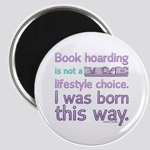 Funny Book Hoarding Lifestyle Magnets