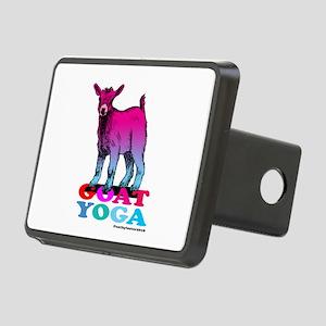 Goat Yoga 2 Rectangular Hitch Cover