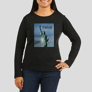 Women's Marches–I Women's Long Sleeve Dark T-Shirt