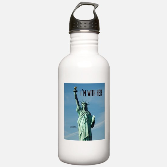 Women's Marches–I'm Wi Water Bottle