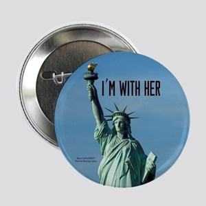 """Women's Marches–I'm With He 2.25"""" Button"""