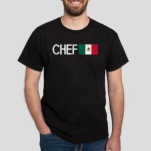 Culinary: Chef (Mexican Flag) Dark T-Shirt