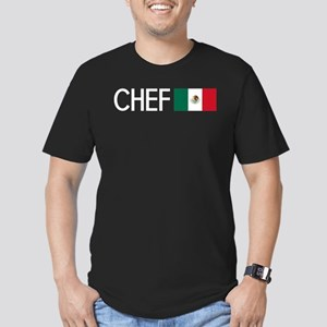Culinary: Chef (Mexica Men's Fitted T-Shirt (dark)