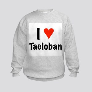 I love Tacloban Kids Sweatshirt