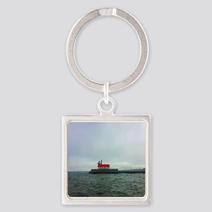 Duluth Red Roof Keychains