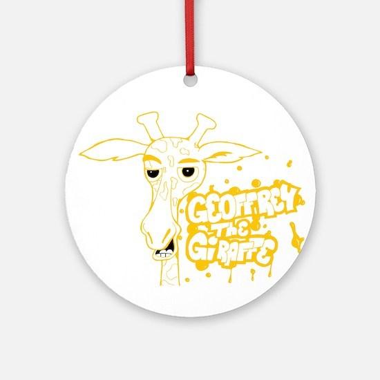 Geoffrey G Round Ornament