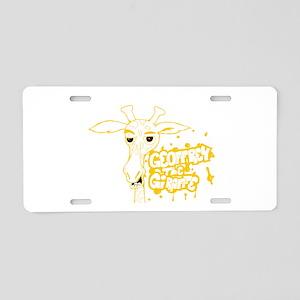 Geoffrey G Aluminum License Plate