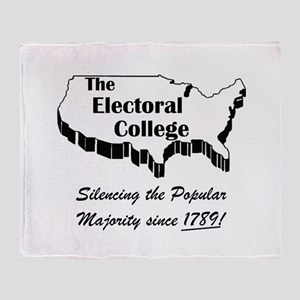 Electoral Throw Blanket
