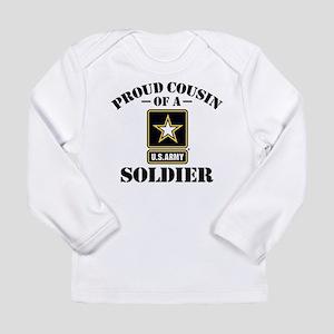Proud Cousin U.S. Army Long Sleeve T-Shirt