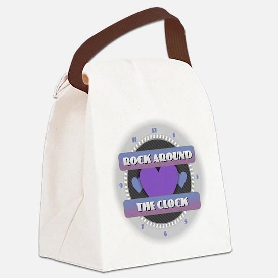 Cute Jitterbug Canvas Lunch Bag