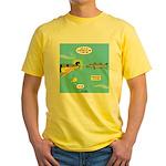 Barracuda Attitude Yellow T-Shirt