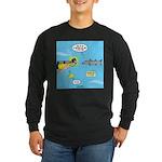 Barracuda Attitude Long Sleeve Dark T-Shirt
