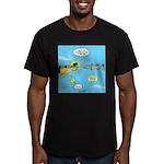 Barracuda Attitude Men's Fitted T-Shirt (dark)