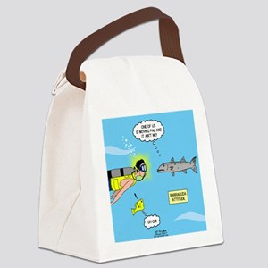 Barracuda Attitude Canvas Lunch Bag