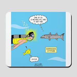 Barracuda Attitude Mousepad