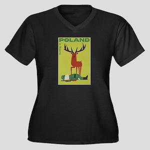 Polska Polish Poland Vintage Ant Plus Size T-Shirt