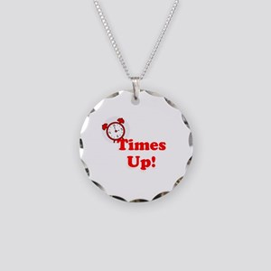 Times Up! Equal rights, equality, clock Necklace