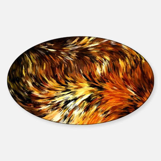 Fox Tails Abstract Decal