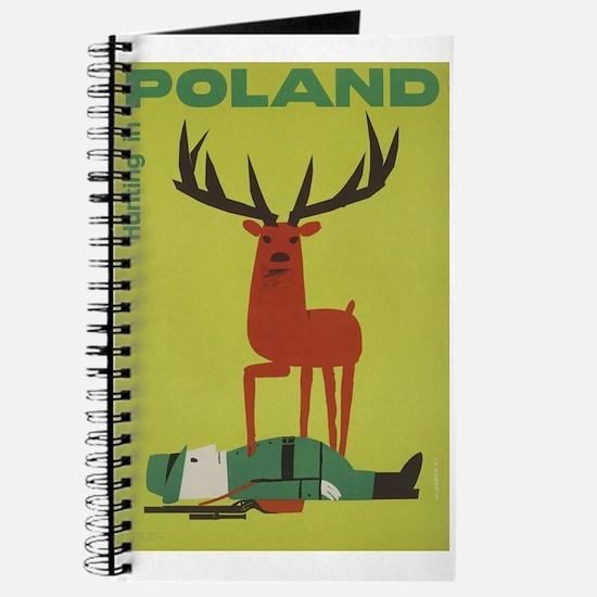 Polska Polish Poland Vintage Anti Hunting Journal