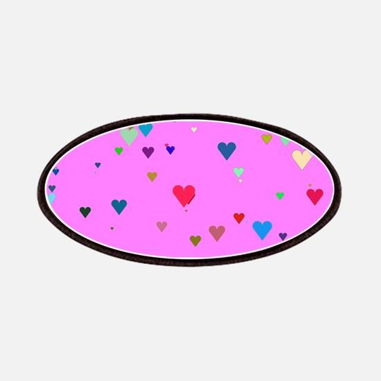 Valentine PinkLiliacHearts Patch