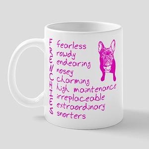 F R E N C H I E S pink Mug