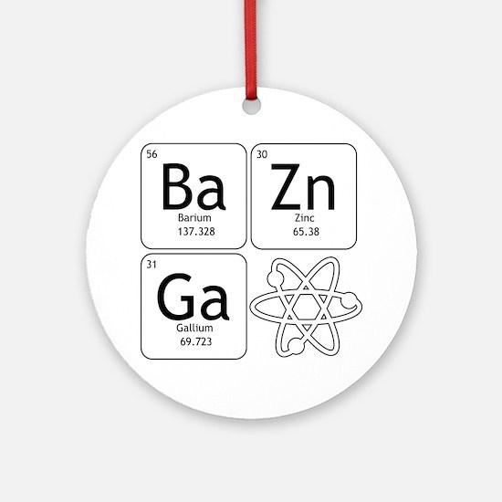 Unique Big bang Round Ornament