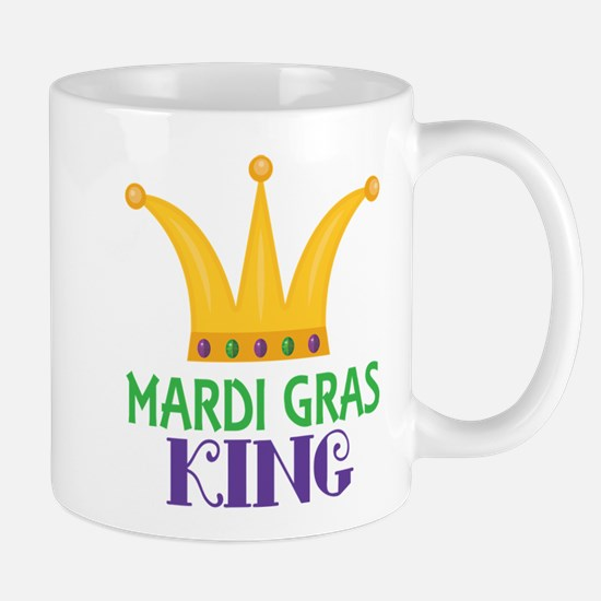 Mardi Gras King Party Crown Mugs