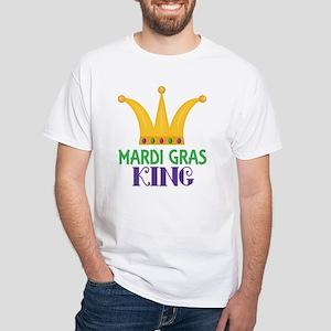 Mardi Gras King Party Crown T-Shirt