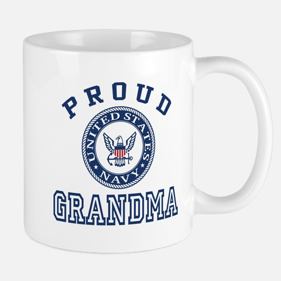 Proud US Navy Grandma Mug