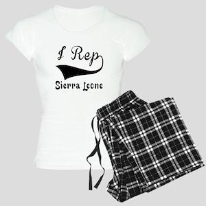 I Rep Sierra Leone Women's Light Pajamas