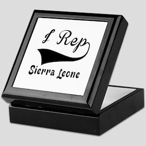 I Rep Sierra Leone Keepsake Box