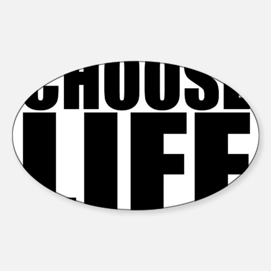 Choose Life 80s Vintage Classic Prolife Decal