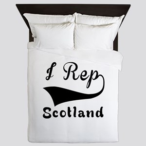 I Rep Scotland Queen Duvet