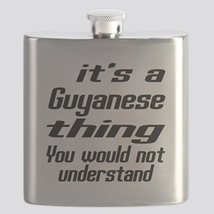 It Is Guyanese Thing You Would Not understan Flask