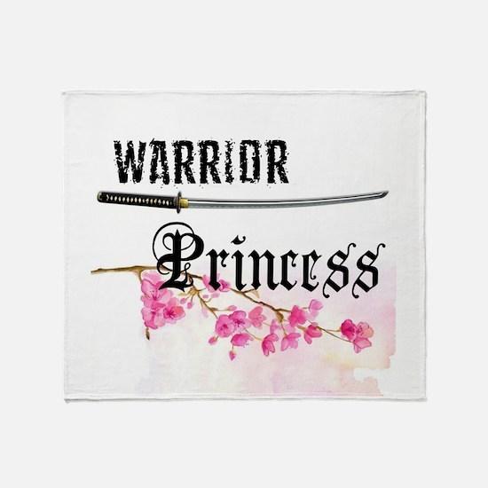 Cute Princess Throw Blanket